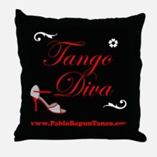 TANGO DIVA Throw Pillow