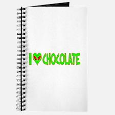 I Love-Alien Chocolate Journal