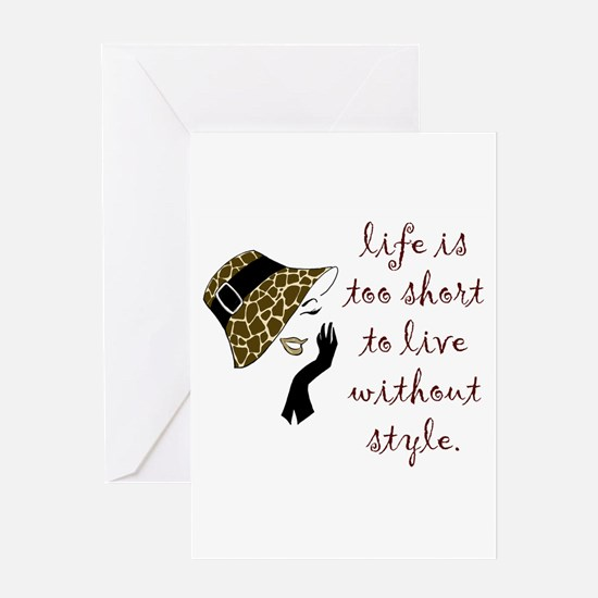 Cute Couture Greeting Card