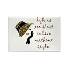 Cute Fashion Rectangle Magnet (100 pack)