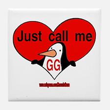 GG 2 Tile Coaster