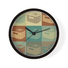 HVAC Pop Art Wall Clock