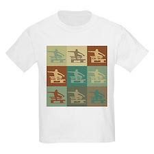 Hurdling Pop Art T-Shirt