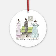 Pride & Prejudice Ch 21 Ornament (Round)