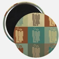 Human Resources Pop Art Magnet