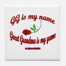GG 3 Tile Coaster