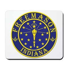 Indiana Masons Mousepad