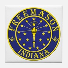 Indiana Masons Tile Coaster