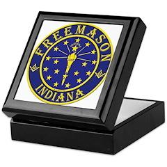 Indiana Masons Keepsake Box