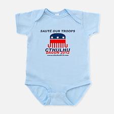 Sauté Our Troops Infant Bodysuit