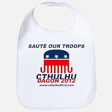 Sauté Our Troops Bib