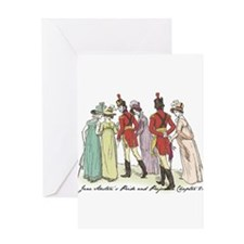 Pride & Prejudice Ch 21a Greeting Card