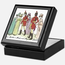Pride & Prejudice Ch 21a Keepsake Box