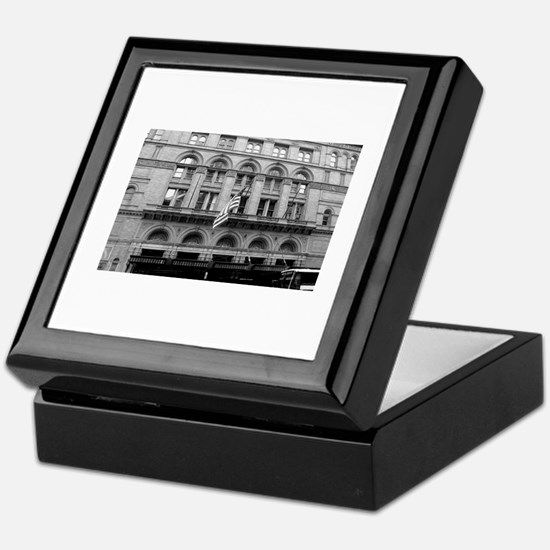 Black and White Classic Photo Keepsake Box