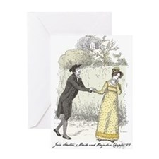 pride & Prejudice Ch 22 Greeting Card