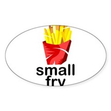 small fry Oval Decal
