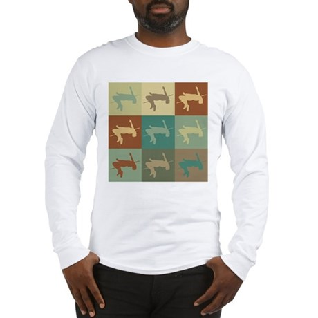 High Jumping Pop Art Long Sleeve T-Shirt