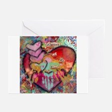 Always in my Heart Greeting Cards (Pk of 10)