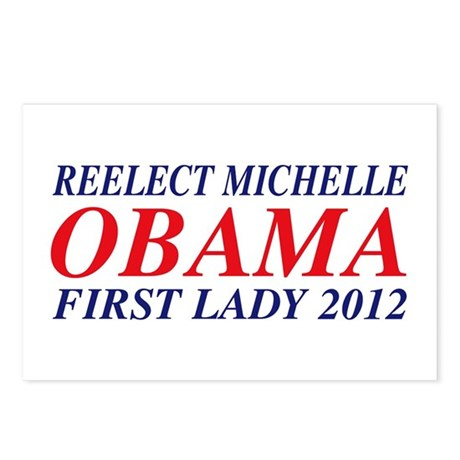 Reelect Michelle First Lady Postcards (Package of