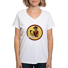Dons of Dominguez Women's V-Neck T-Shirt