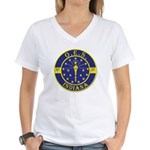 Indiana OES Women's V-Neck T-Shirt