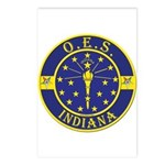 Indiana OES Postcards (Package of 8)