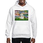 Lilies (#2)/Sealyham L2 Hooded Sweatshirt