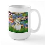 Lilies (#2)/Sealyham L2 Large Mug