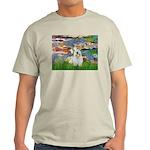 Lilies (#2)/Sealyham L2 Light T-Shirt