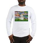 Lilies (#2)/Sealyham L2 Long Sleeve T-Shirt