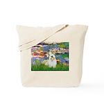 Lilies (#2)/Sealyham L2 Tote Bag