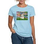 Lilies (#2)/Sealyham L2 Women's Light T-Shirt