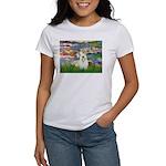 Lilies (#2)/Sealyham L2 Women's T-Shirt