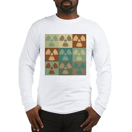 Hazmat Pop Art Long Sleeve T-Shirt