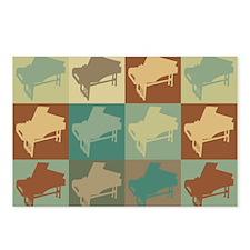 Harpsichord Pop Art Postcards (Package of 8)