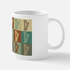 Harp Pop Art Mug