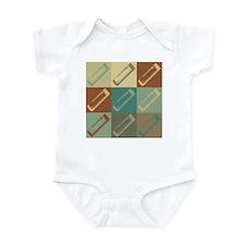 Harmonica Pop Art Infant Bodysuit