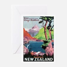 Otago New Zealand Greeting Card