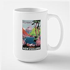 Otago New Zealand Large Mug