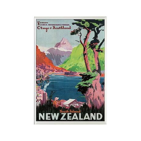 Otago New Zealand Rectangle Magnet