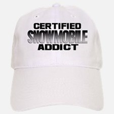 Certified Snowmobile Addict Hat