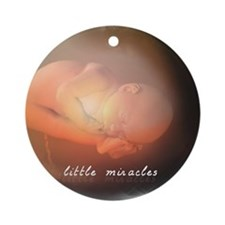 Little Miracles Ornament (Round)