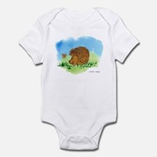Hedgehog and Butterfly Infant Bodysuit