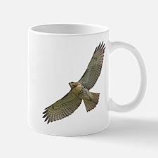 Soaring Red-tail Hawk Small Small Mug