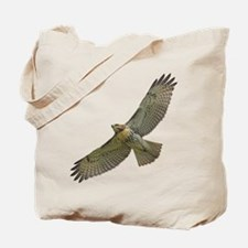 Soaring Red-tail Hawk Tote Bag