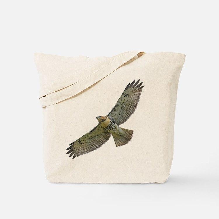 Soaring Red-tail Hawk Tote Bag