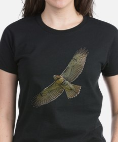 Soaring Red-tail Hawk Tee