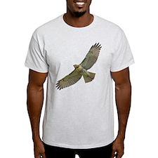 Soaring Red-tail Hawk T-Shirt