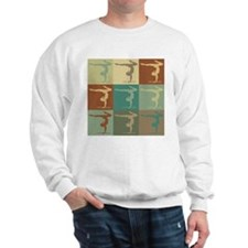 Gymnastics Pop Art Sweatshirt
