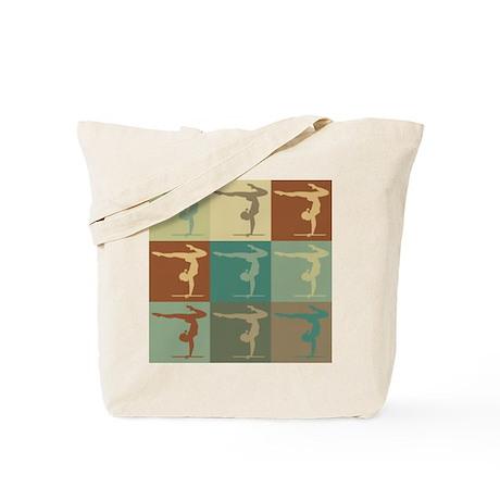 Gymnastics Pop Art Tote Bag